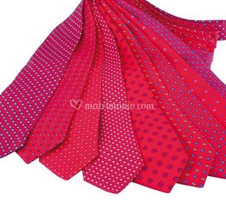 Cravatte rosse
