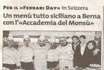Cena di Gala - Ferrari Day di Accademia del Mons�