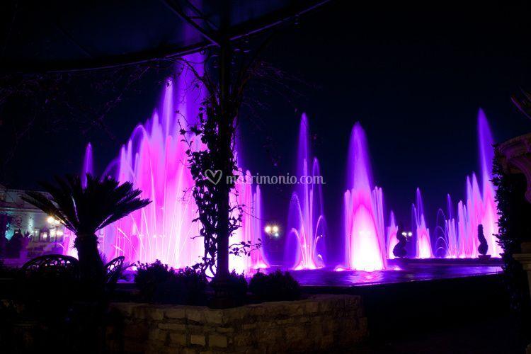 Le fontane danzanti