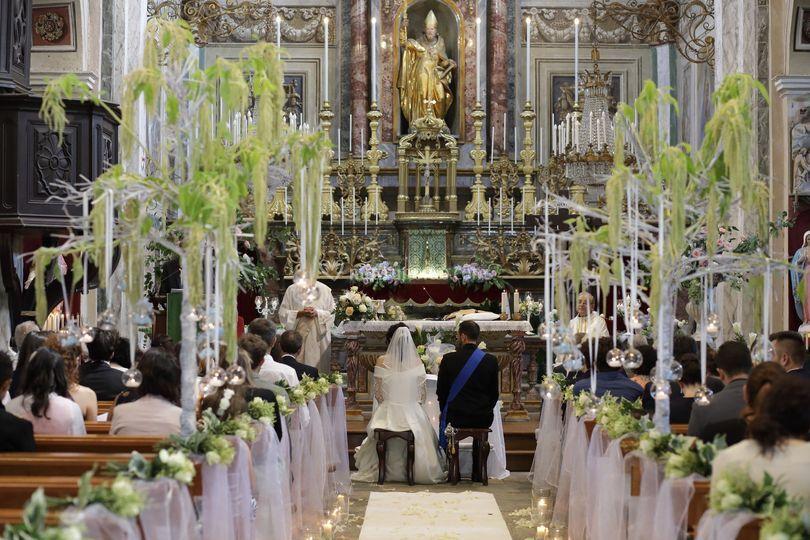 Visuale chiesa Coassolo