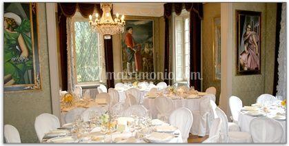 Sala da pranzo Villa San Michele