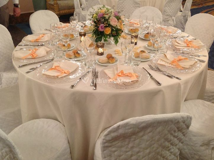 Mise en place palazzo borghese