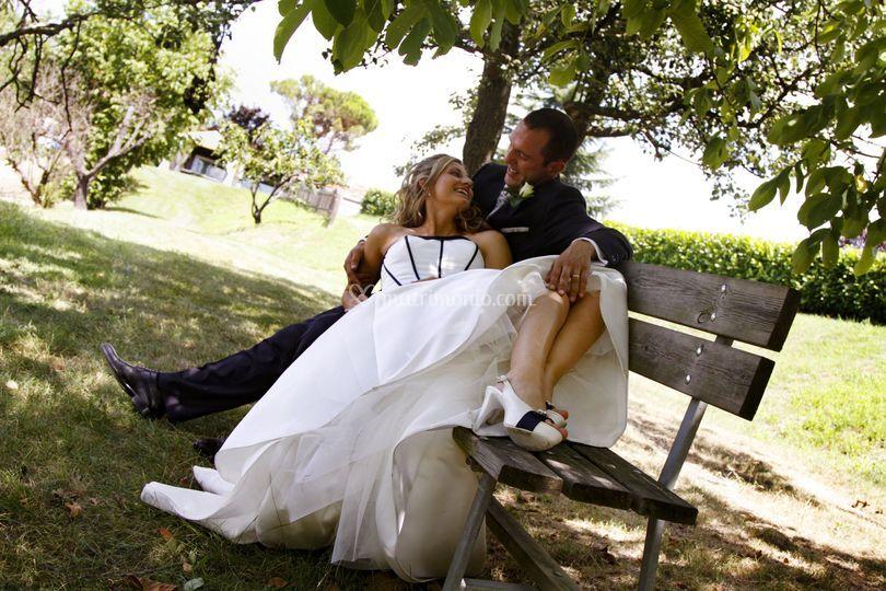 Fotografo matrimopnio romantic