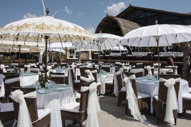 Matrimoni Spiaggia Napoli : Matrimonio napoli spiaggia di rama beach cafe foto 15