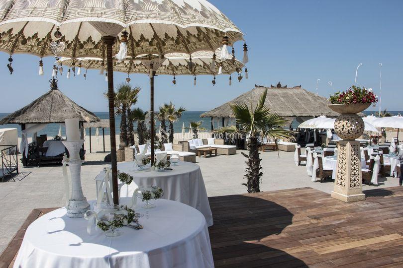 Matrimoni Spiaggia Napoli : Matrimonio napoli rama beach di rama beach cafe foto 22