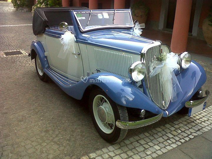 Fiat balilla cabrio