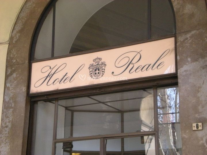 Hotel Reale ingresso