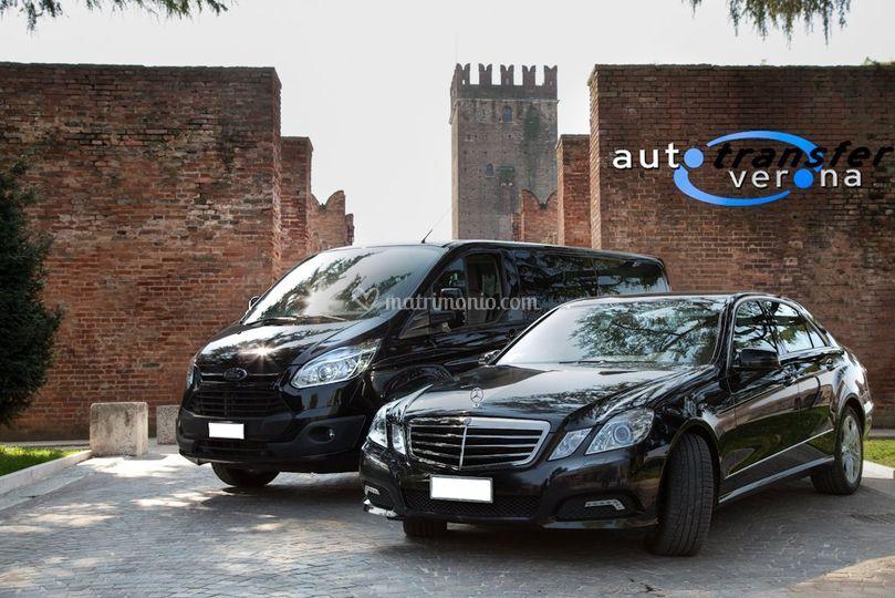 Ford Turneo 9 posti e Mercedes