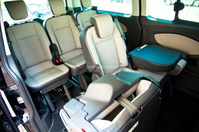 Interni Ford Turneo