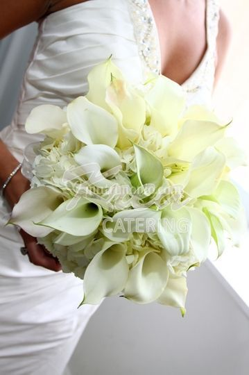 Bouquet ortensie calle