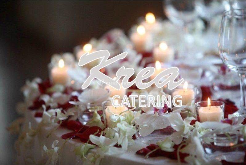 Allestimento candele e fiori