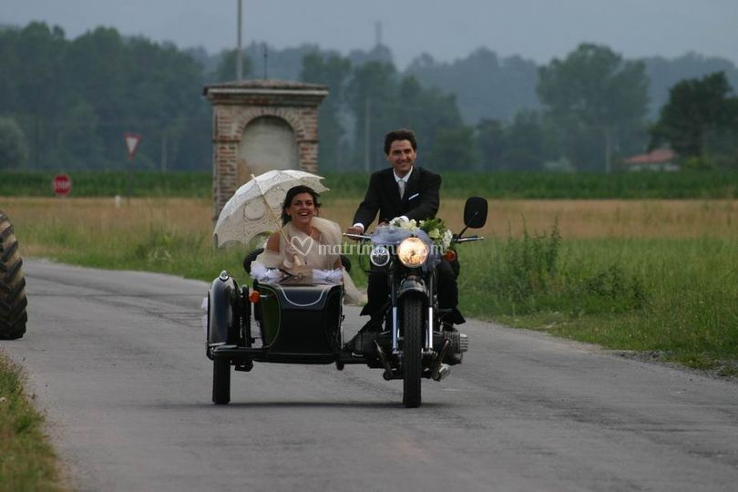 Sidecar sposi
