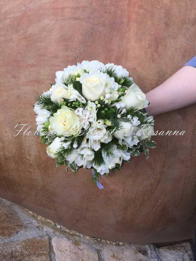Bouquet Sposa Rotondo.Bouquet Sposa Rotondo Di Flowers Foto 8