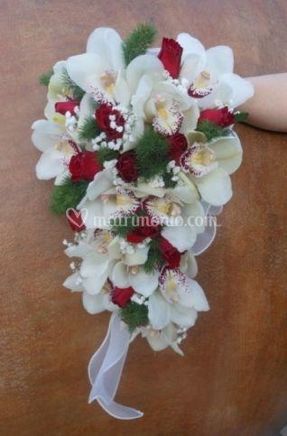 Bouquet sposa a goccia