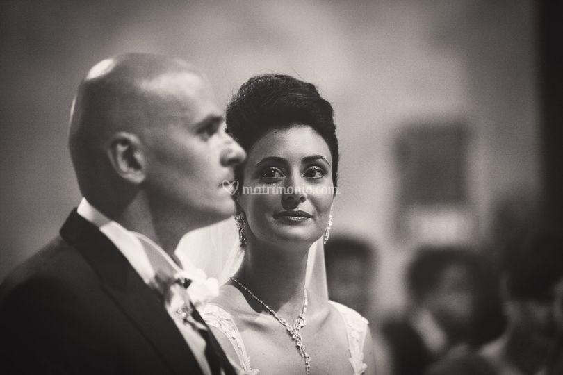 L'emozione della sposa