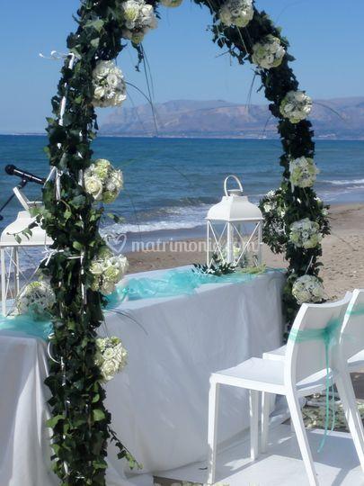 Matrimonio In Spiaggia Trapani : Matrimonio in spiaggia di alkamar foto
