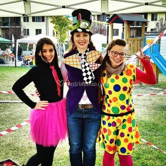 Tania, Anastasia e Serena