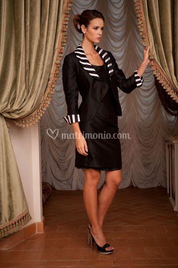 Tailleur black & white