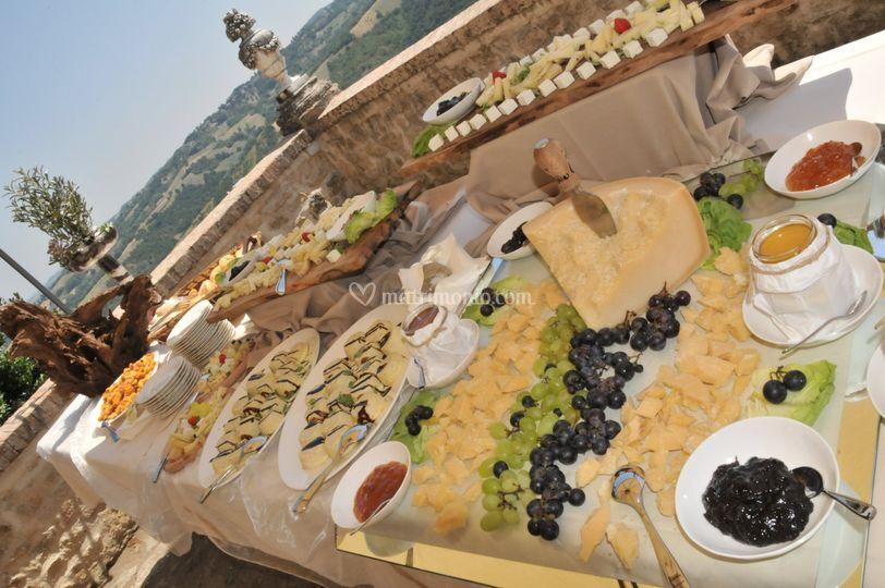 Buffet di aperitivi
