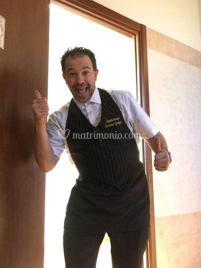 Finto cameriere gaetano
