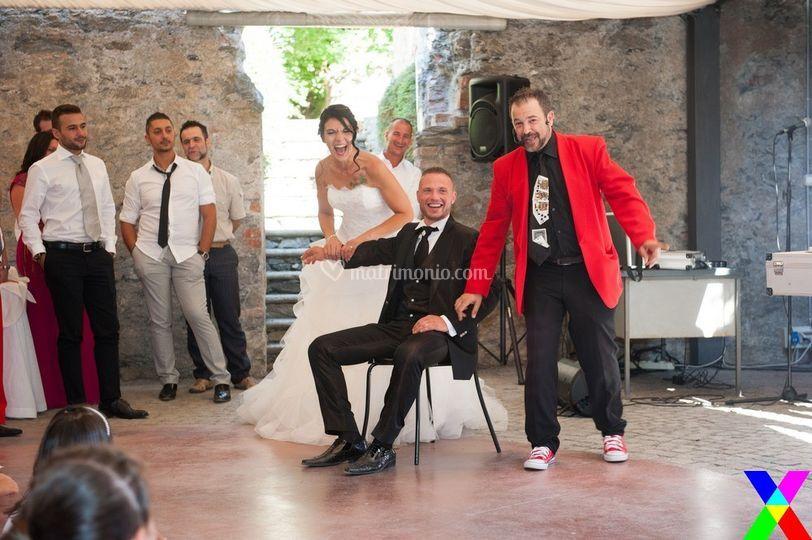 Gli sposi ridono sempre