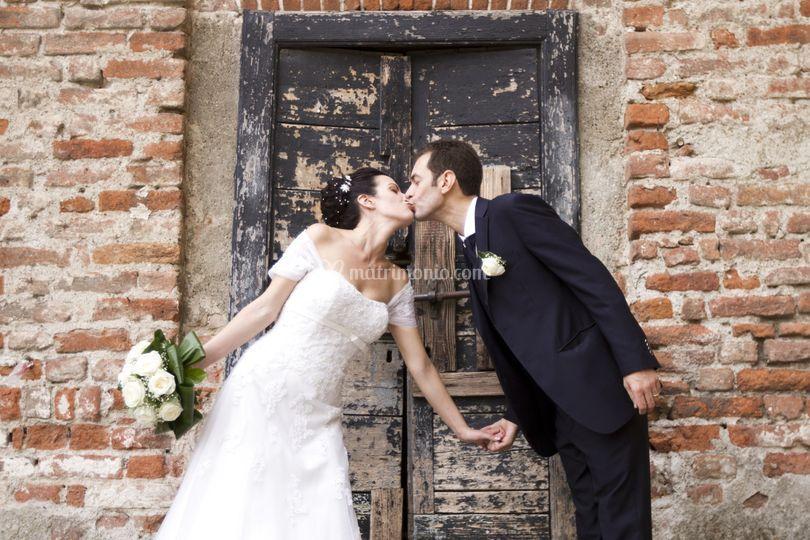 Un bacio tra le mura