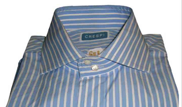 Camicia con colleto diverso
