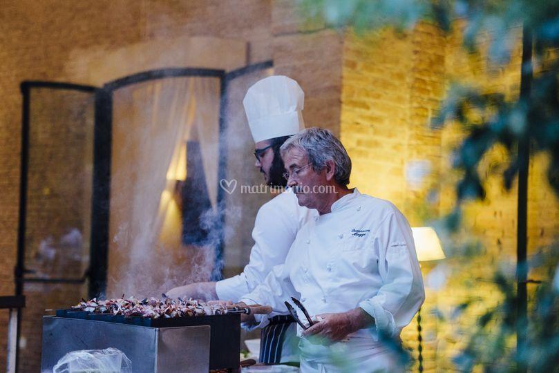 Chef in preparazione