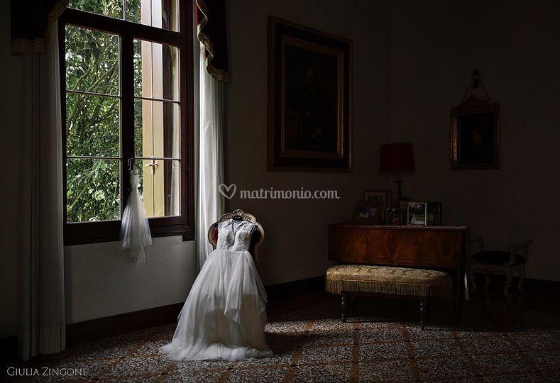 L'abito, Inmaculada Garcia