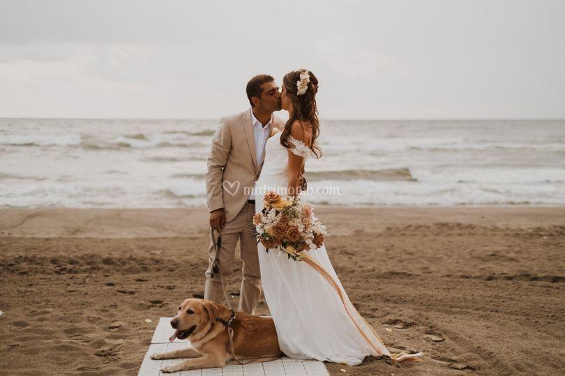 Matrimonio mare cane fedi