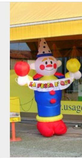 Clown gonfiabile