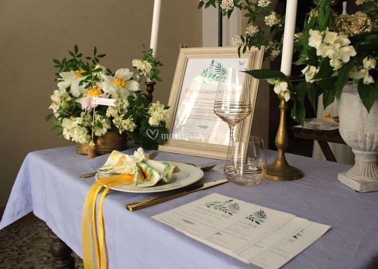 Matrimonio Stile botanico