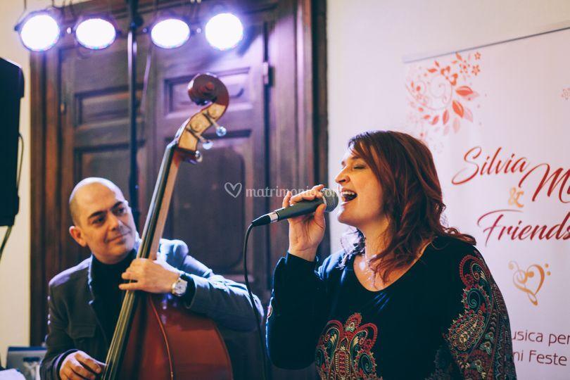 Silvia Milli & Double Bass