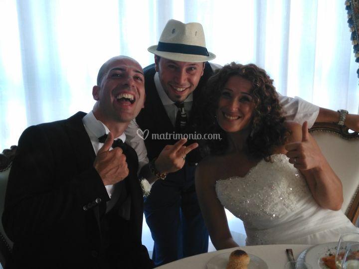 Dan e gli sposi
