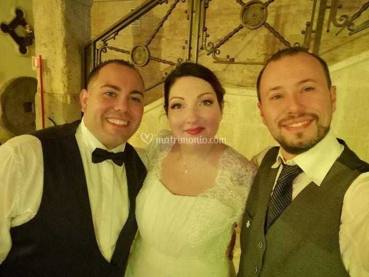 Dan con Daniele&Martina