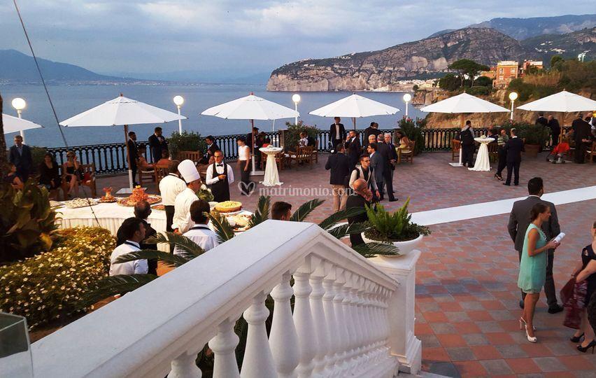 Matrimonio In Europa : Aperitivo in teerazza europa di grand hotel palace