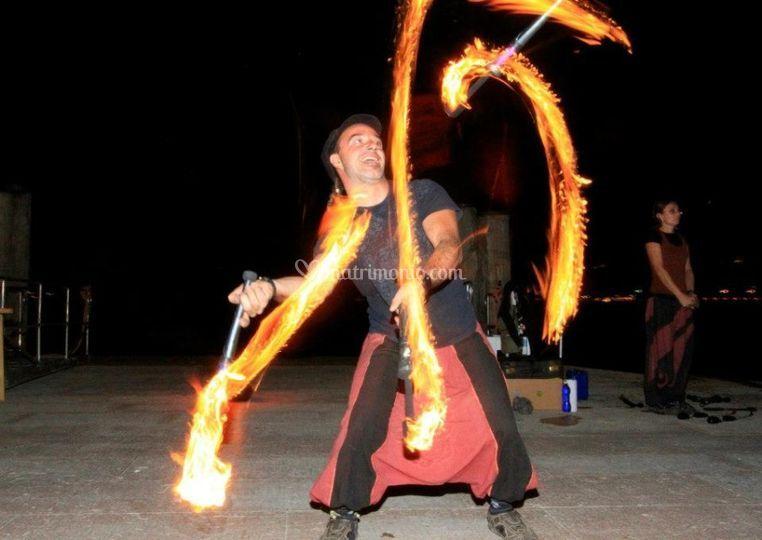 Show fuoco