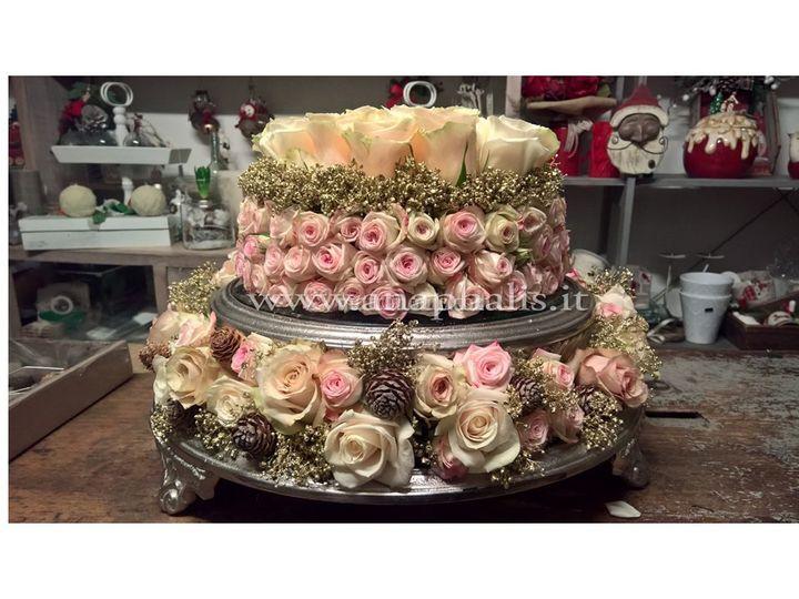 La torta di rose...