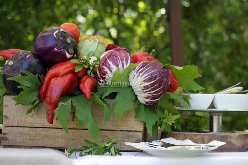 La cassetta con la verdura