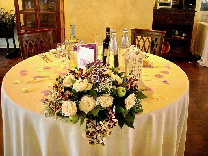 Un tavolo sposi