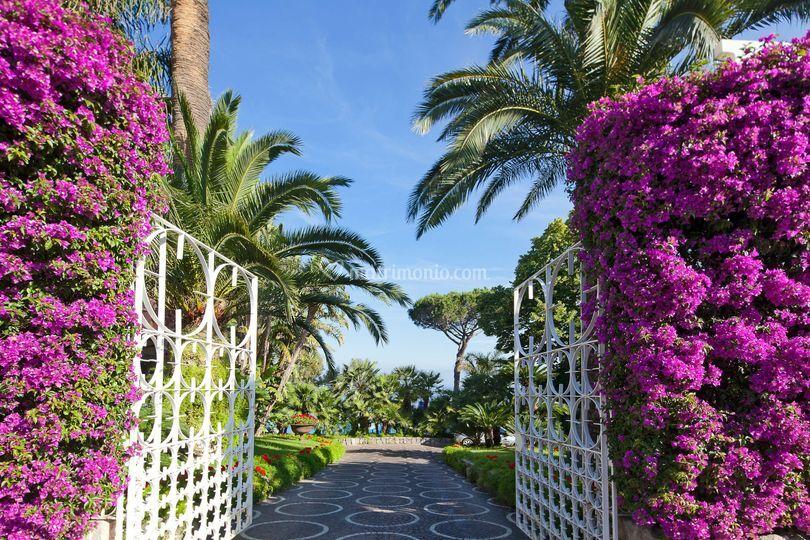 Ingresso Grand Hotel Riviera