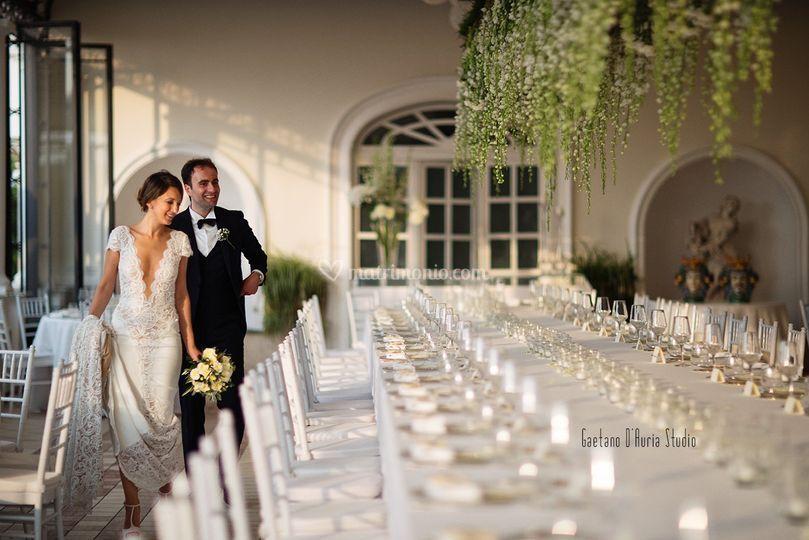 Tavolo imperiale hotel la medu