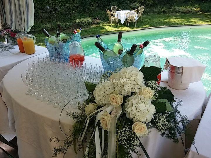 Il buffet aperitivi