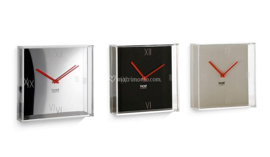 Tic & Tac  Design: Filippe Starck (con Eugeni Quitllet)   Orologio da parete.