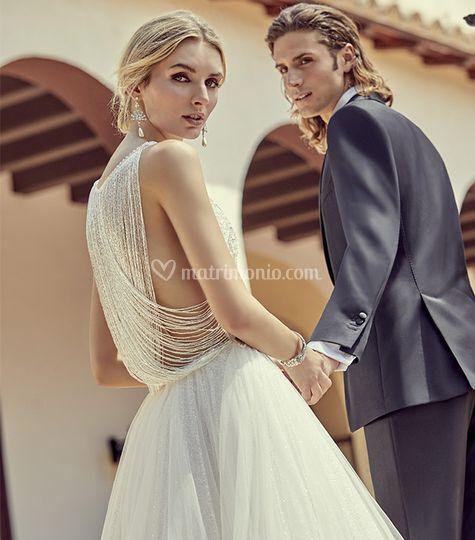 Sposa e sposo lunaraine