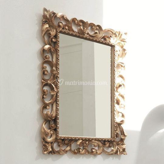 Specchio oro cornice Barocca