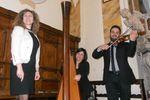 Chiesa: arpa, violino e voce di Gruppo Arechi