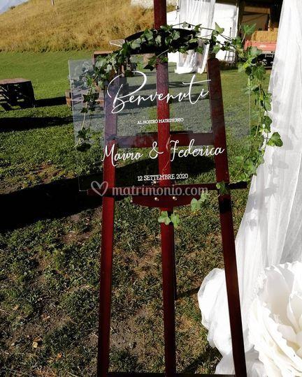 Benvenuto matrimonio