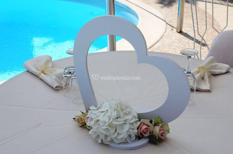 Tavolo piscina Sposi