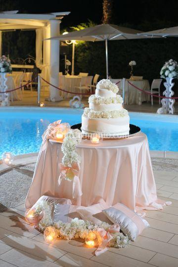 Allestimento Weedding cake